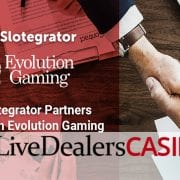 Slotgater live casino games evolution