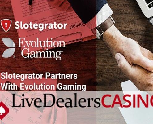 Slotgater live casino games evolution