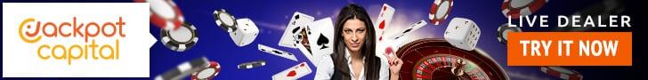 Live Dealer Casino Jackpot Capital