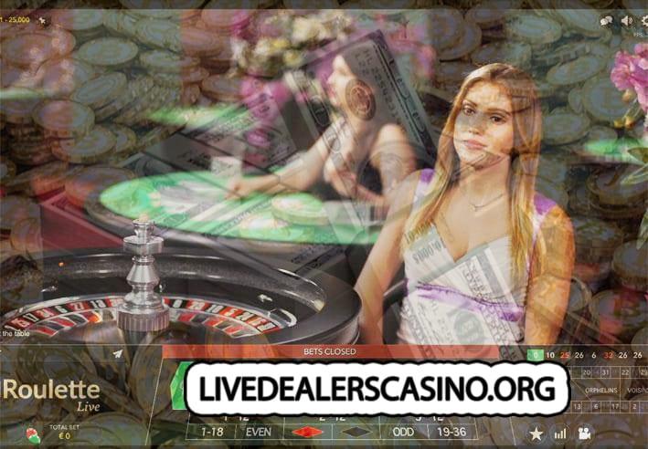 Dealer IMMERSE roulette