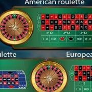 Live american european roulette