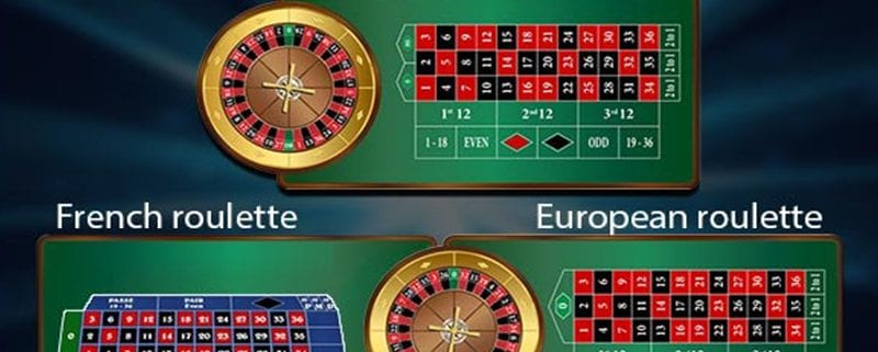 Live american european roulette