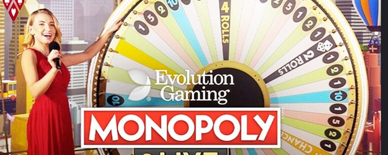 monopoly live casino evolution gaming