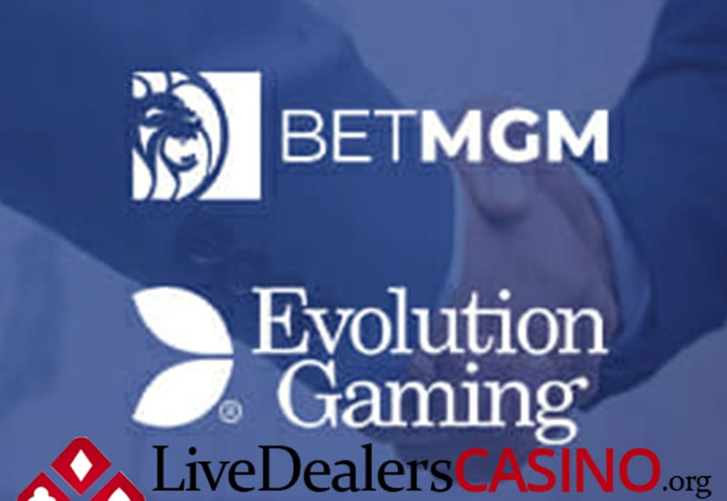 Evolution Gaming Joins Forces With BetMGM For US Live Casino Market