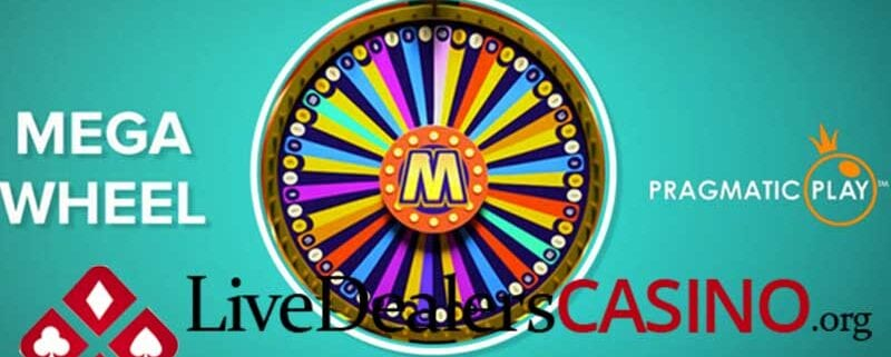 MEGA WHEEL – CASINO SOFTWARE PROVIDERS FIRST LIVE CASINO GAME SHOW