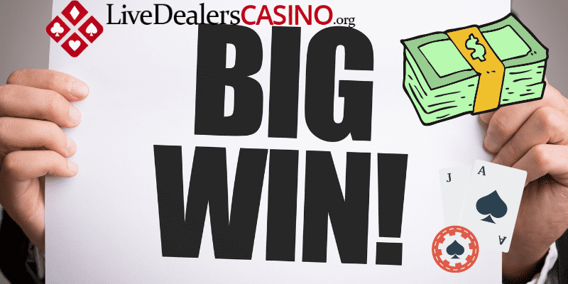 Congratulations To The Live Dealer Blackjack Player Starts Off 2021 With A $200K Win