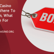 Bitstarz Casino Bonuses Where To Find Them, What They're For