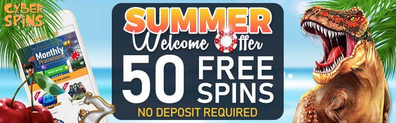 Strike Gold with CyberSpins Mega Summer Bonus Extravaganza
